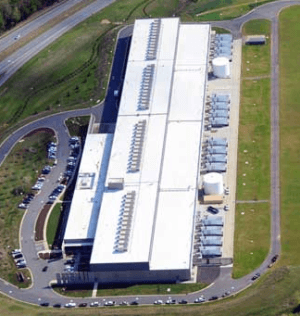 Data center that houses Cloud farms for Industry 4.0