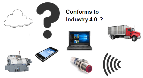 There is no such thing as an Industry 4.0 standard.