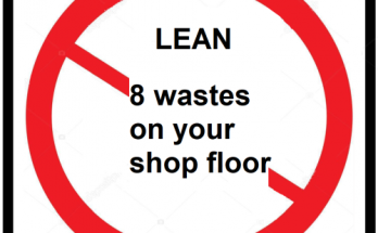 8 wastes of lean manufacturing that must be eliminated from the shop floor